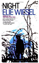 Cover art of _Night_ by Elie Wiesel (1982 edition)